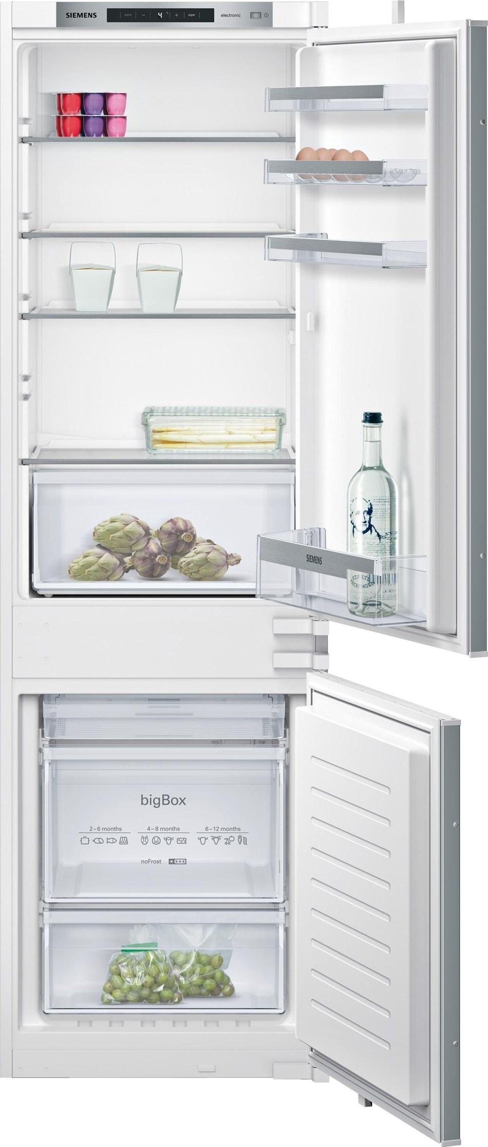 siemens ki86nvs30 einbau k hl gefrierkombination no frost built in fridge freezers. Black Bedroom Furniture Sets. Home Design Ideas