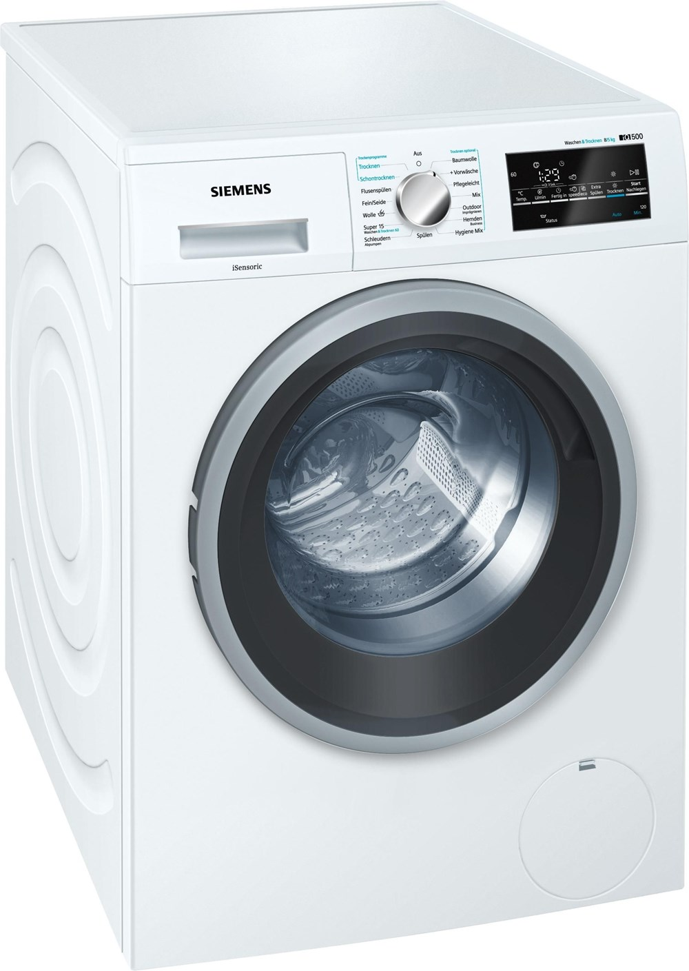 Siemens WD15G442 Waschtrockner (EEK: A) - Preisvergleich