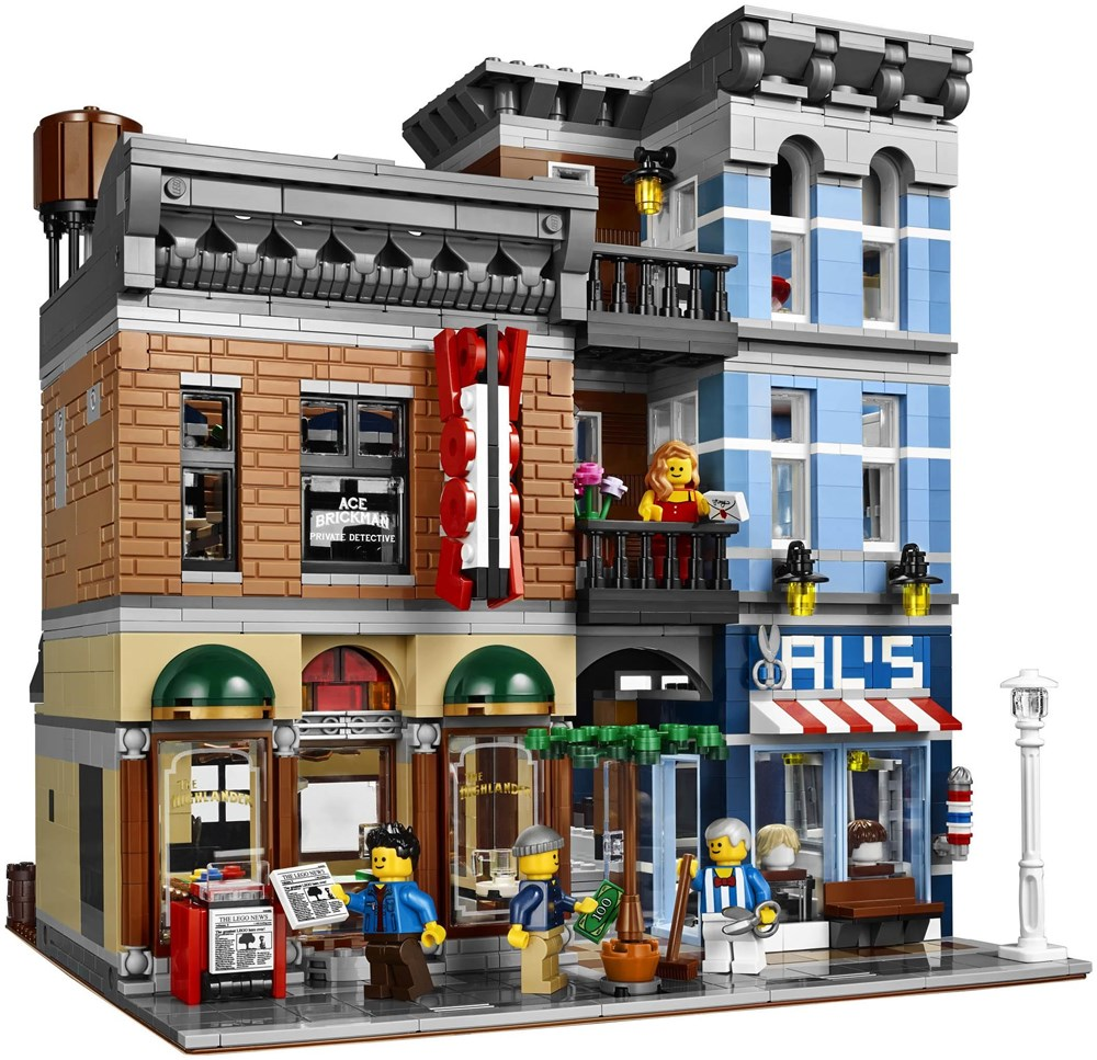 LEGO® Creator Expert 10246 Detektivbüro - Preisvergleich