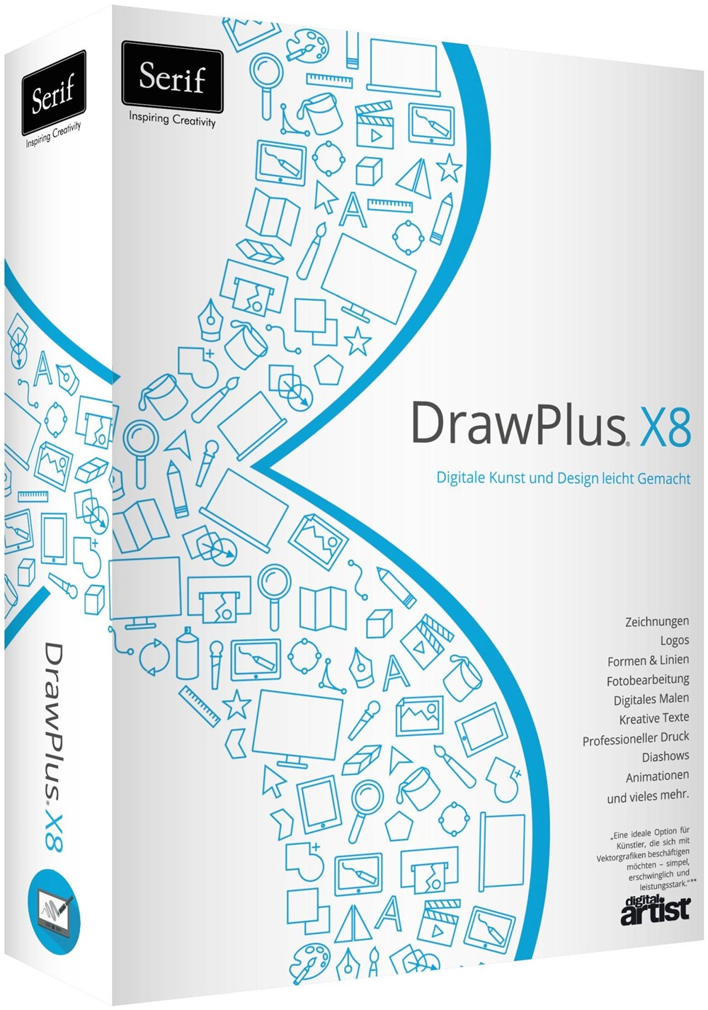 Serif DrawPlus X8 (PC Win) DE - Photo Editing ...