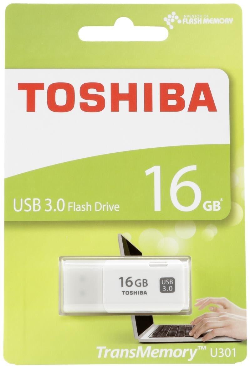 Toshiba TransMemory U301 USB 3.0 16GB weiß THN-U301W0160E4