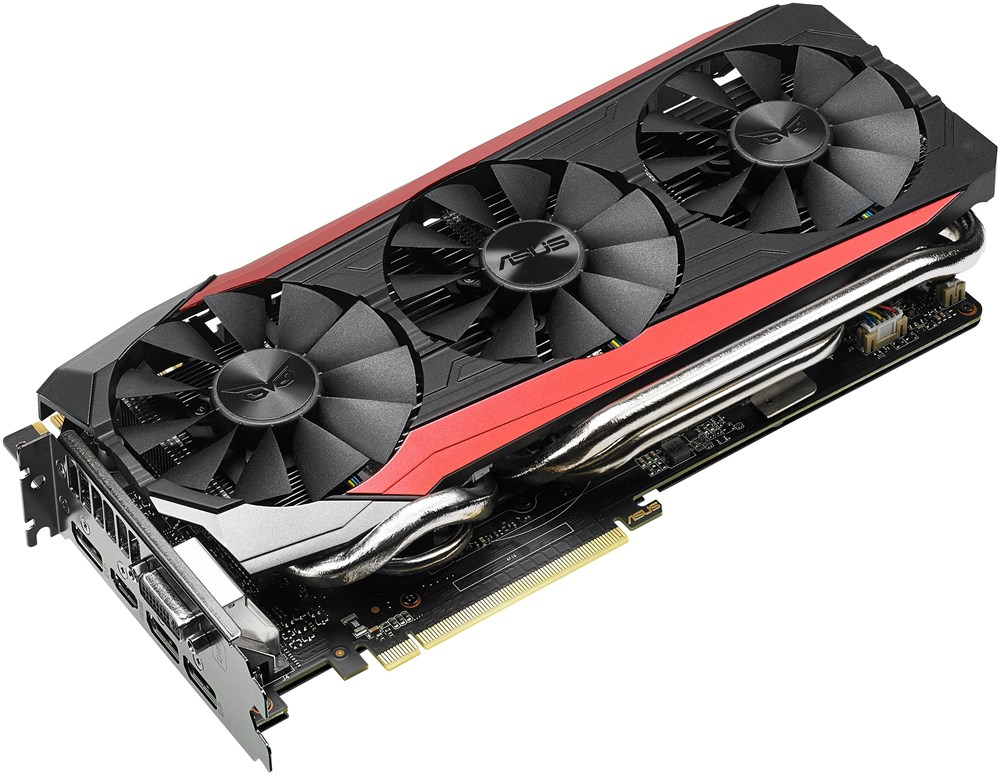 asus geforce gtx 980 ti strix dc3oc 6gd5 6gb ddr5 pci. Black Bedroom Furniture Sets. Home Design Ideas
