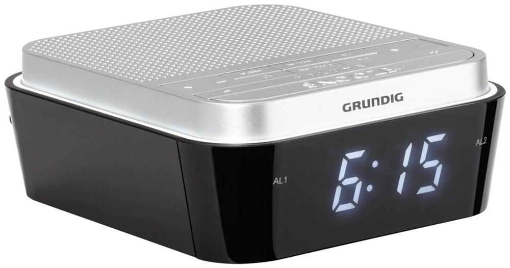 Grundig Sonoclock 920 silber / schwarz