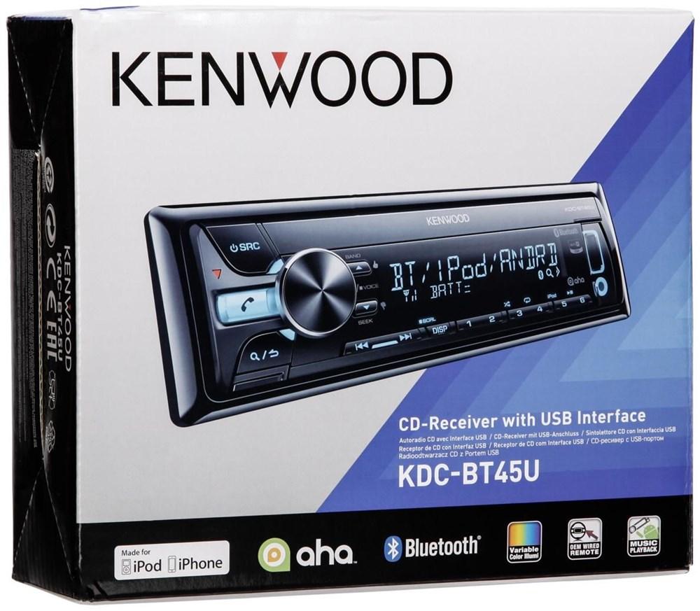 kenwood kdc bt45u car hifi video computeruniverse. Black Bedroom Furniture Sets. Home Design Ideas