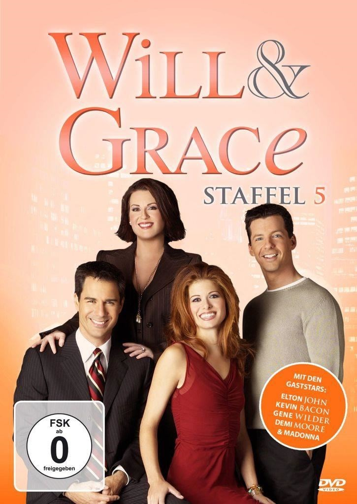 Will & Grace - Season 5 (DVD) DE-Version