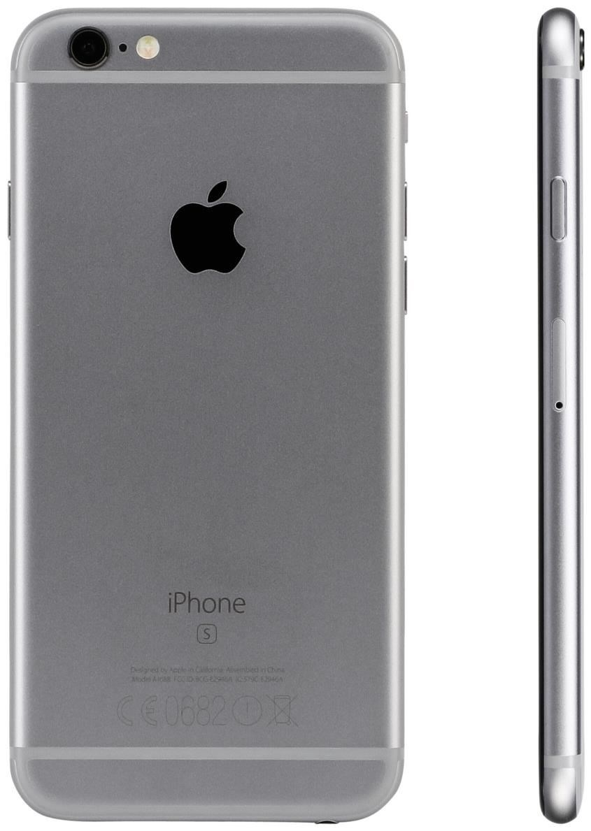 apple iphone 6s 64 gb smartphone ohne vertrag simlock grau handy ebay. Black Bedroom Furniture Sets. Home Design Ideas