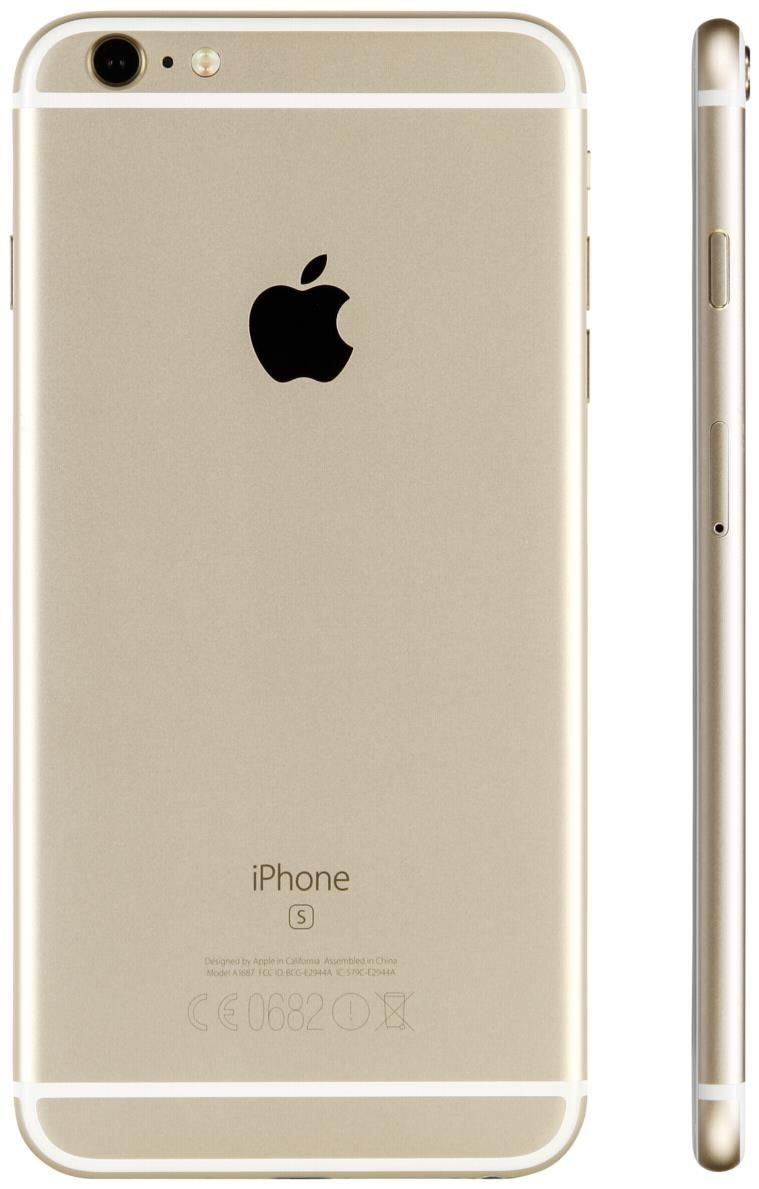 iPhone 6s Plus 16 GB Smartphone ohne Vertrag/SIMlock, gold (Handy)