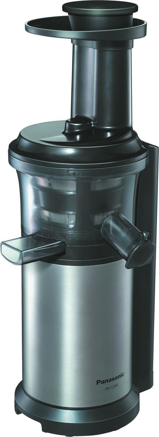 Panasonic Slow Juicer Mj L500sxe Sl : Panasonic MJ-L500SXE Entsafter Slow Juicer - Juicers - computeruniverse