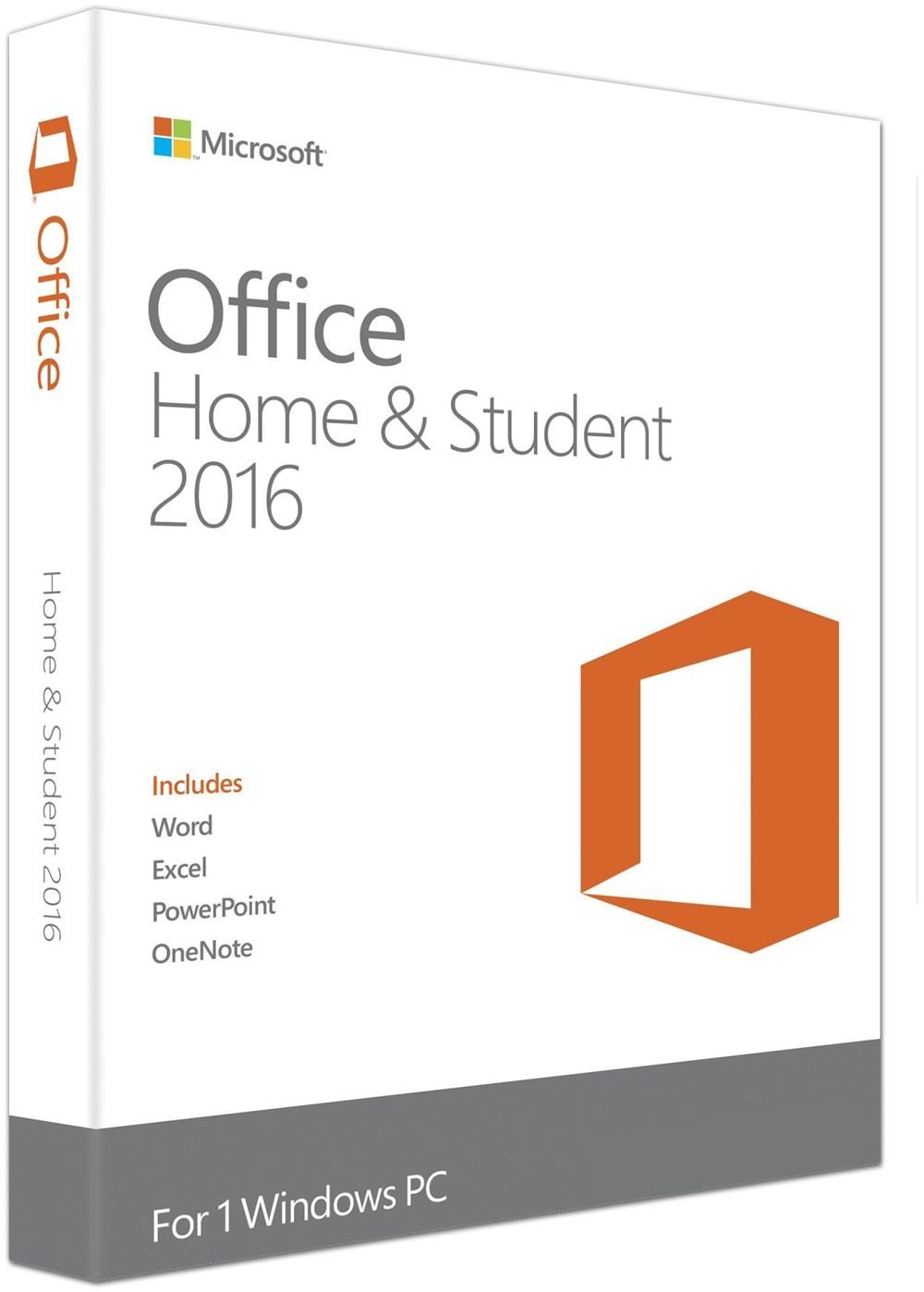 Microsoft Office 2016 Home and Student (NL) PKC Win EuroZone Niederländisch - Preisvergleich