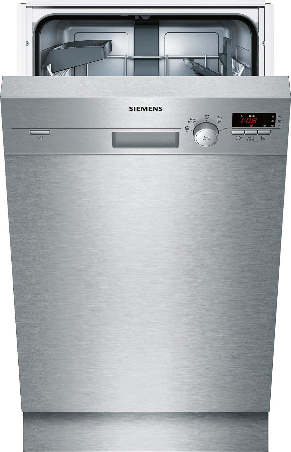 Siemens SR45E507EU iQ300 A+ Unterbauspüler, 45cm edelstahl (EEK: A+)