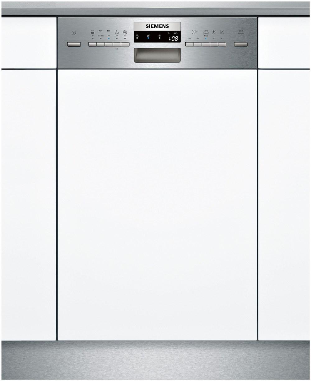 siemens sr55m586eu iq500 a sp ler integriert 45cm edelstahl integrated dishwashers. Black Bedroom Furniture Sets. Home Design Ideas