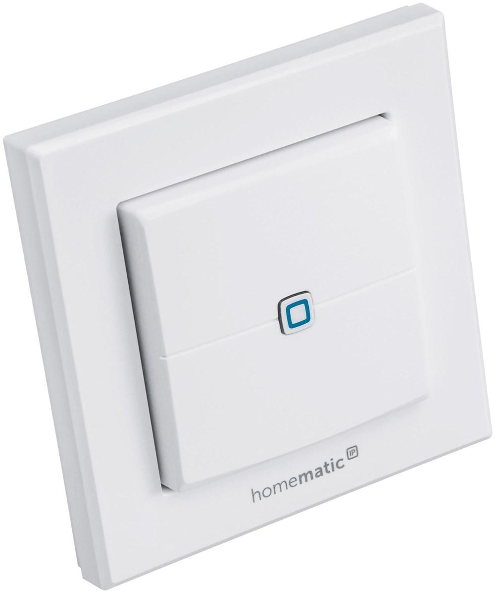 homematic ip wandtaster 2 fach hmip wrc2 smart home energiesparen computeruniverse. Black Bedroom Furniture Sets. Home Design Ideas