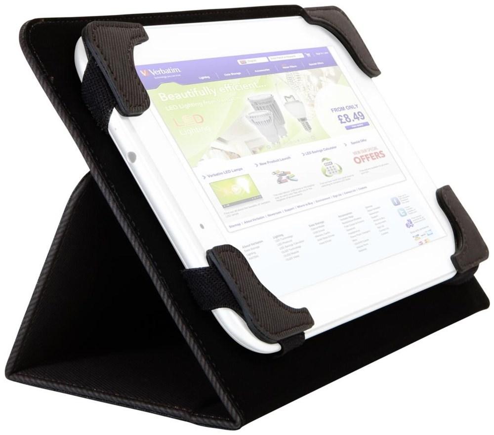 Verbatim Universal Folio Case 10 für Tablet 25.4 cm - Preisvergleich