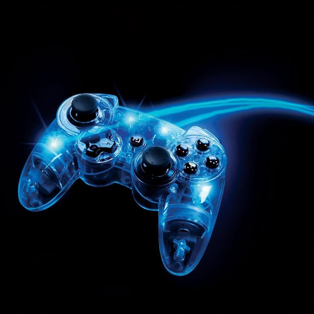 PDP Afterglow Wireless Controller blau (PS3)