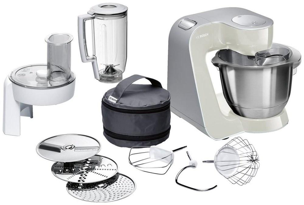 Bosch MUM58L20 silber/beige - Kitchen Appliances - computeruniverse