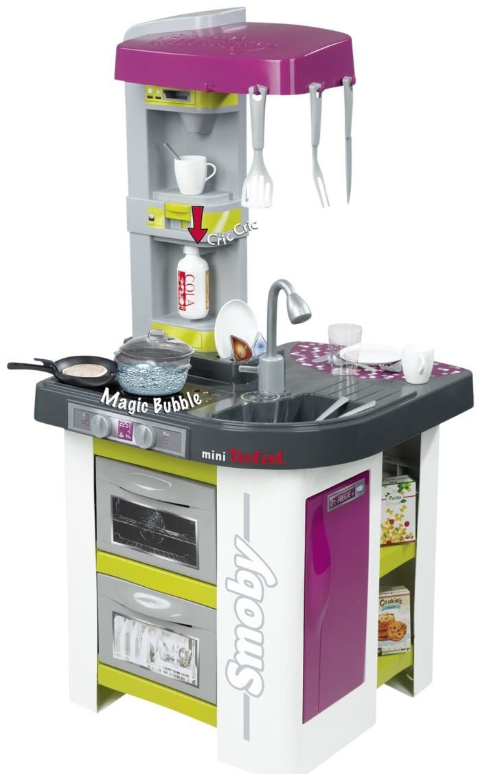 smoby tefal spielküche studio bubble - toys - computeruniverse