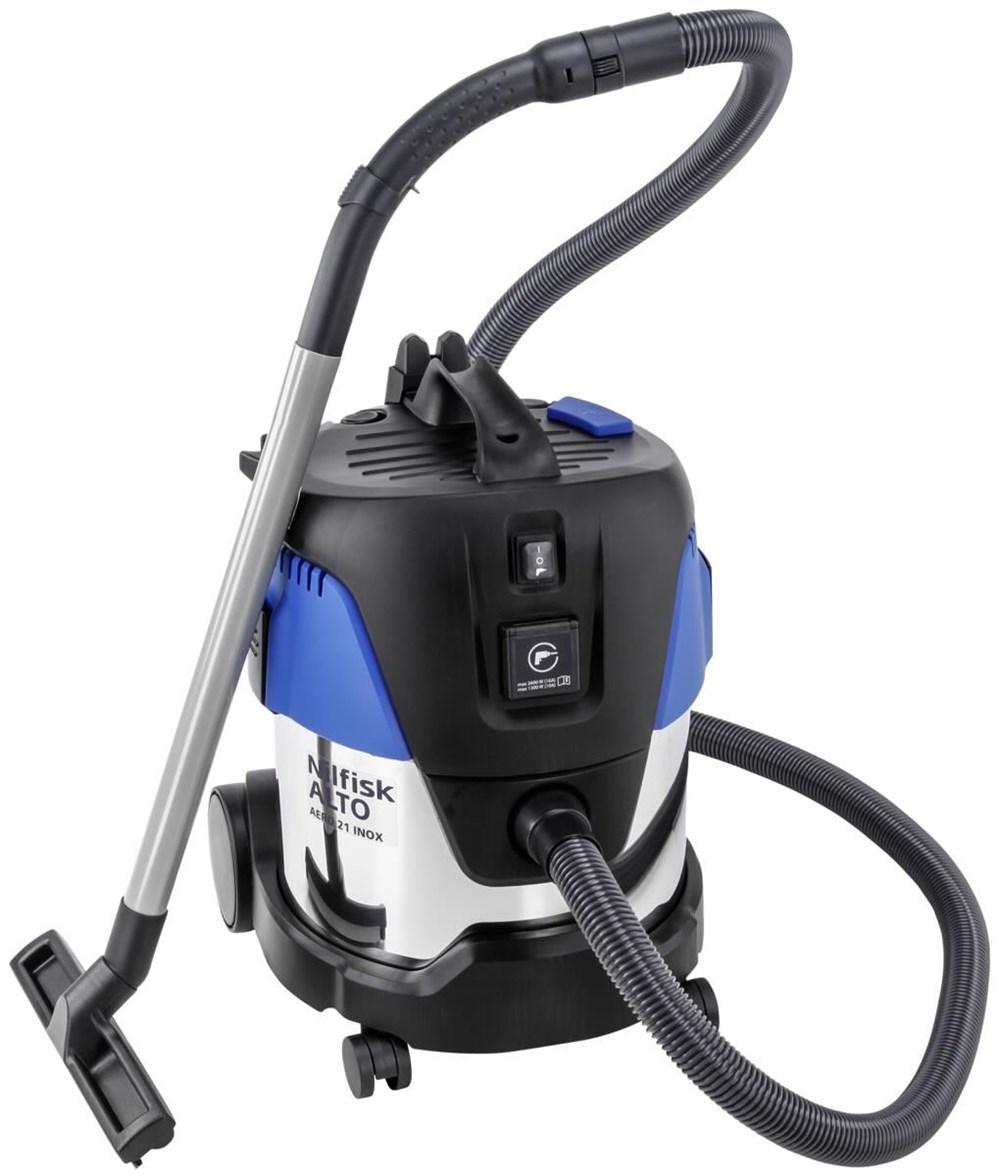 nilfisk aero 21 21 pc inox wet dry vacuum cleaner computeruniverse. Black Bedroom Furniture Sets. Home Design Ideas