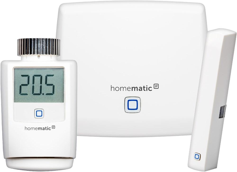homematic ip starter set raumklima energiesparen smart home ebay. Black Bedroom Furniture Sets. Home Design Ideas