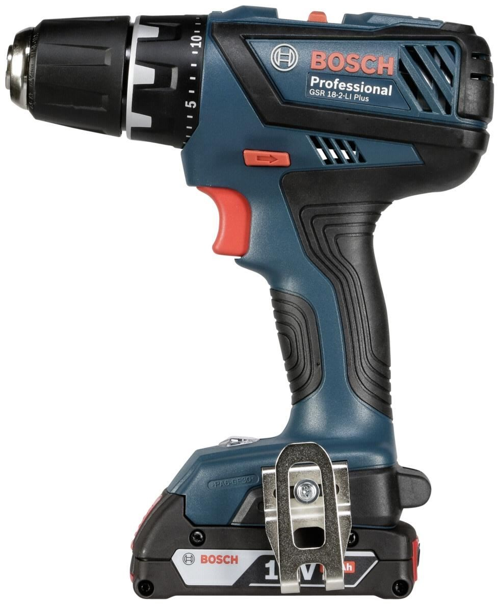 bosch gsr 18 2 li plus cordless drills computeruniverse. Black Bedroom Furniture Sets. Home Design Ideas