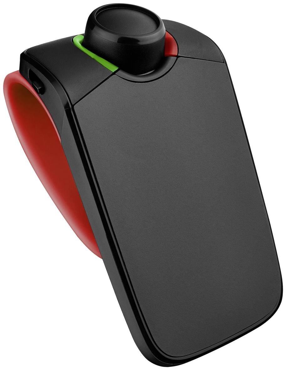 Parrot MINIKIT Neo2 HD Bluetooth-KFz-Freisprechanlage mit Sprachsteuerung rot