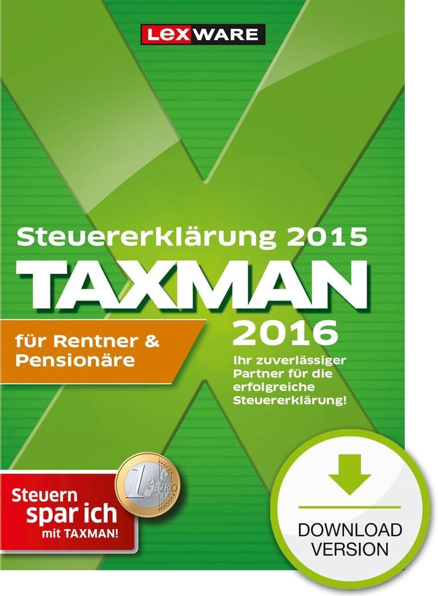 lexware taxman 2016 f r rentner preisvergleich. Black Bedroom Furniture Sets. Home Design Ideas