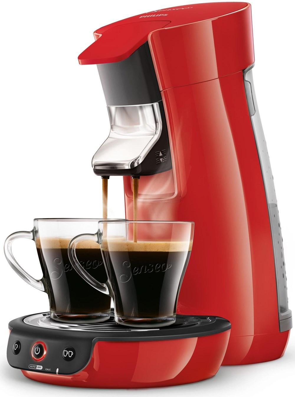 Philips HD7829/80 Senseo Viva Café rot