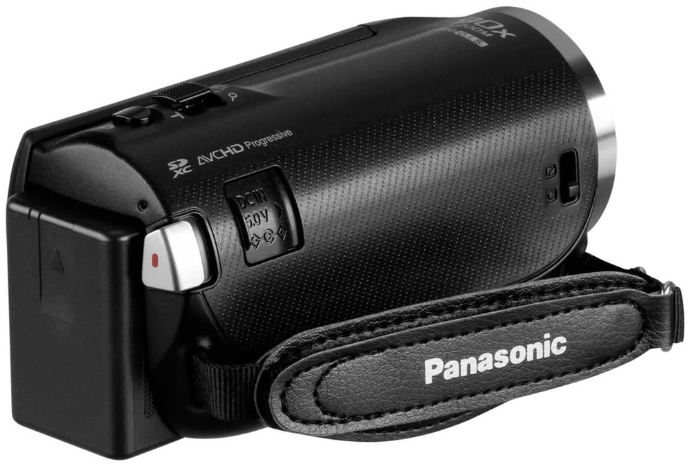 panasonic hc v180 megazoom full hd camcorder videokamera ebay. Black Bedroom Furniture Sets. Home Design Ideas