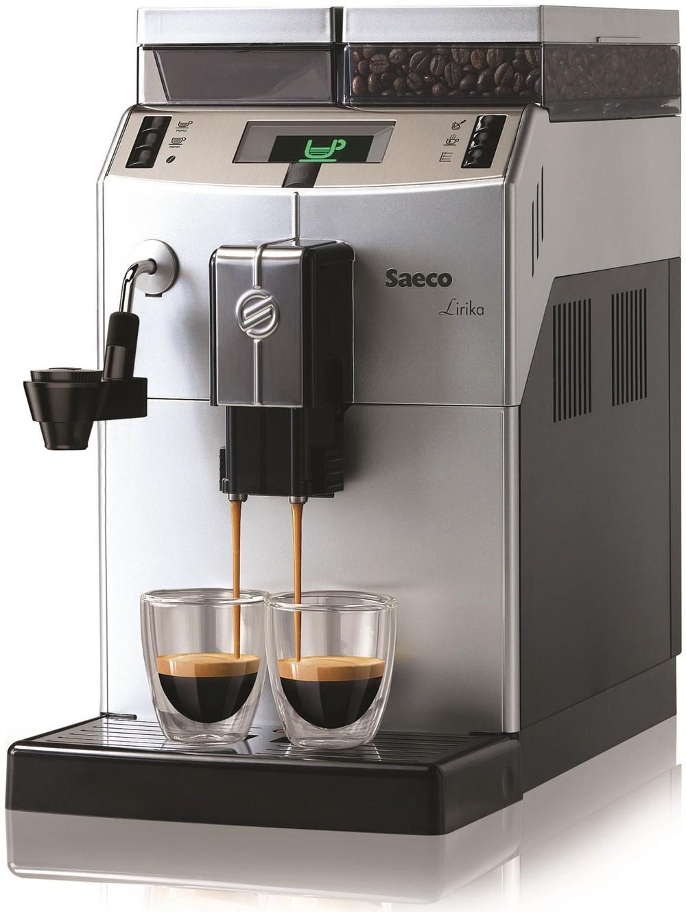 Philips Coffee Maker Bean To Cup : Philips Saeco Lirika Macchiato - Bean-to-Cup Coffee Machines - computeruniverse