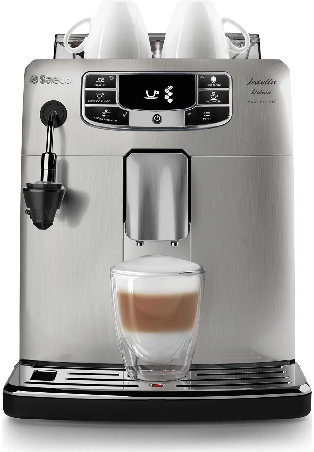 Philips Coffee Maker Bean To Cup : Philips Saeco HD8904/01 Intelia Deluxe Cappuccinatore - Bean-to-Cup Coffee Machines ...