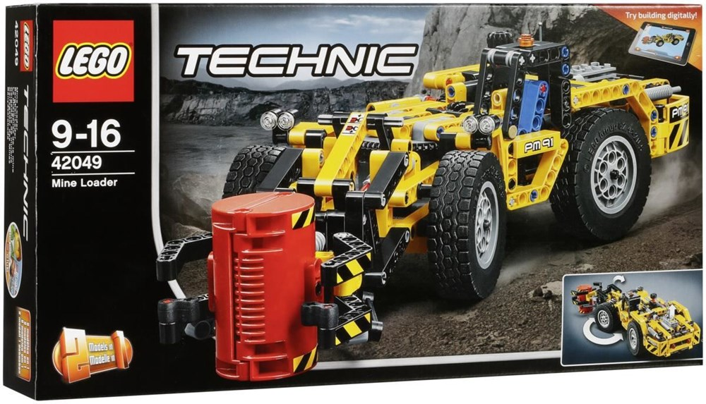 LEGO® Technic 42049 Bergbau Lader - Preisvergleich