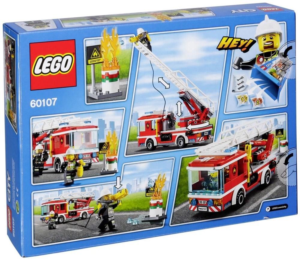 LEGO® City 60107 Feuerwehrfahrzeug mit fahrbarer Lei - Preisvergleich