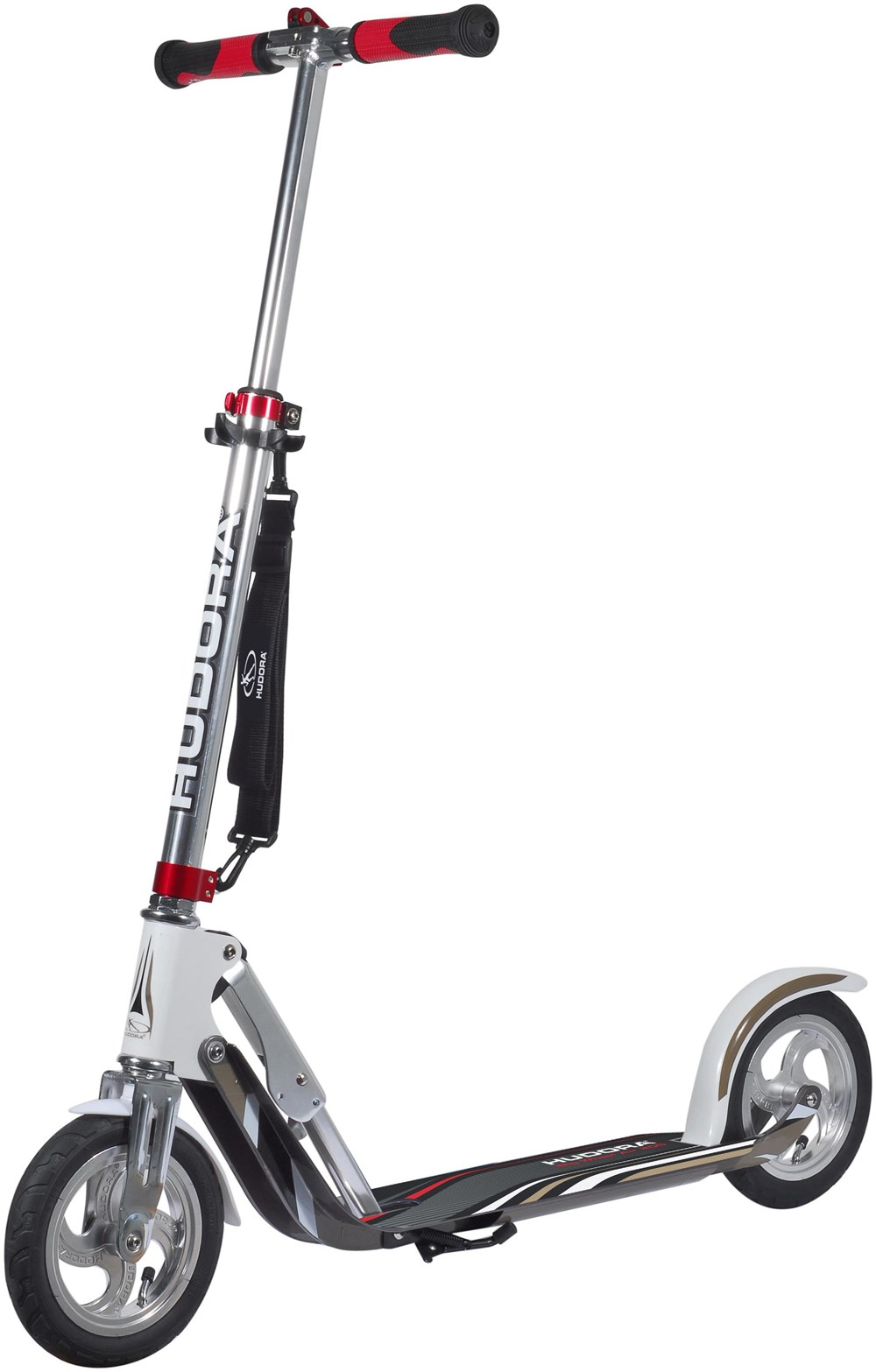 Hudora Scooter Big Wheel AIR 205 Roller silber/weiß - Preisvergleich