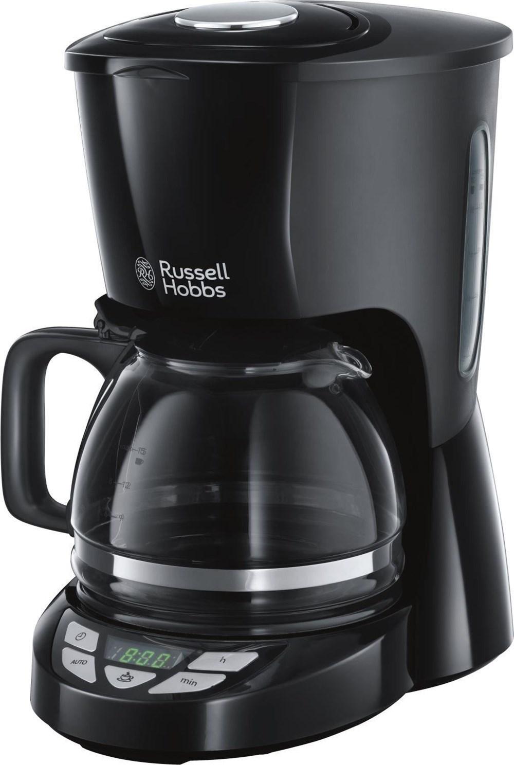 Russell Hobbs 22620-56 Textures Plusa Digitale Glas-Kaffeemaschine