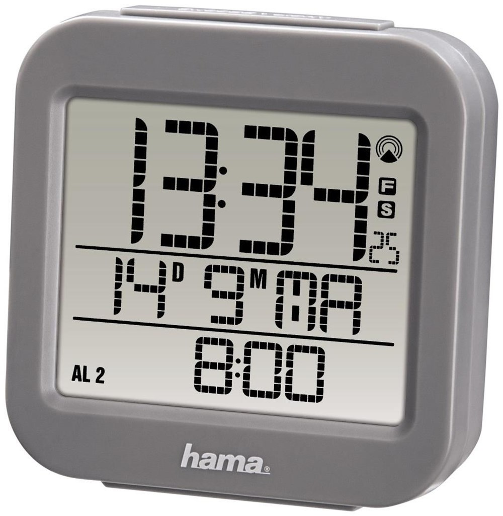 Hama Funkwecker RC 130 Funkwecker grau
