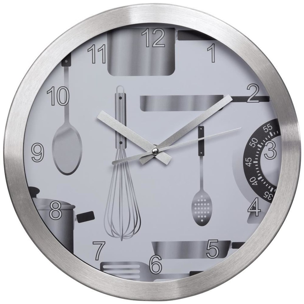 Hama AG-300 Küchenwanduhr geräuscharm - Clocks & Alarm Clocks ...