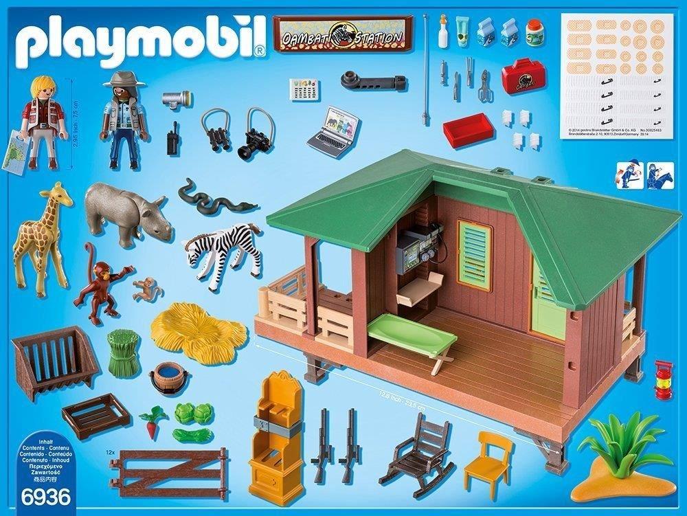playmobil 6936 rangerstation mit tieraufzucht playmobil computeruniverse