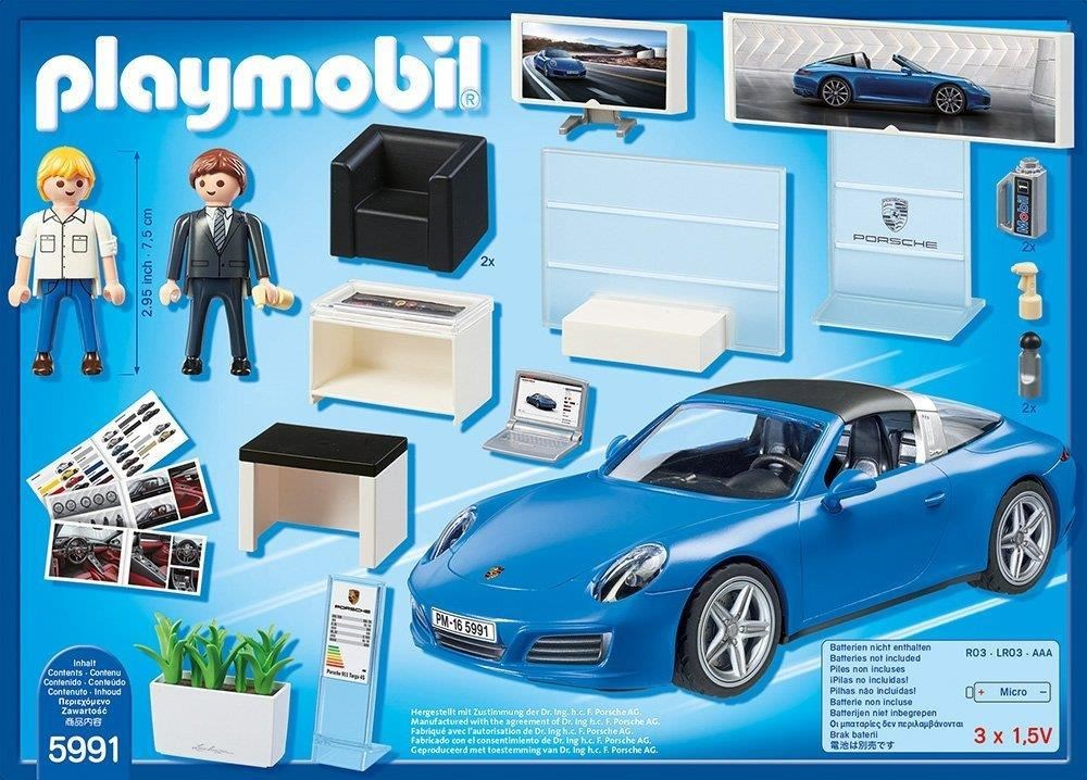 playmobil 5991 porsche 911 targa 4s playmobil computeruniverse. Black Bedroom Furniture Sets. Home Design Ideas