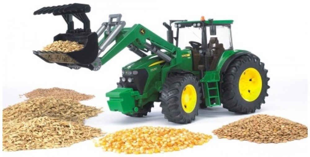 Bruder 03051 John Deere 7930 Traktor m.FL