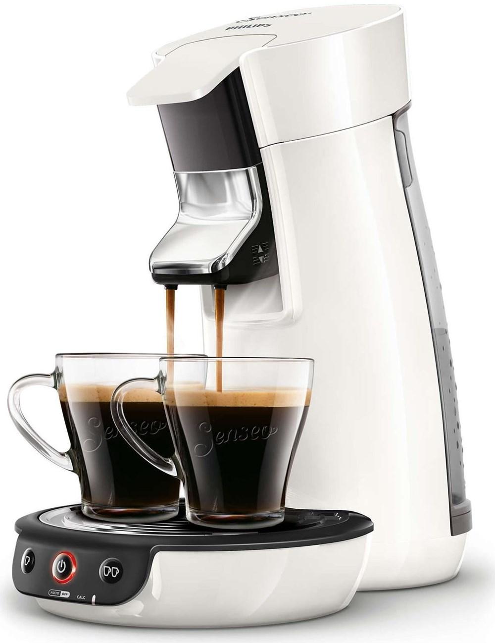 Philips Senseo HD7829/09 Viva Café weiß mit 200 Pads Gratis