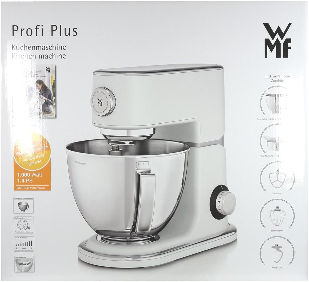 WMF Profi plus in weiß incl. Fleichwolf Küchenmaschine 1000W ...