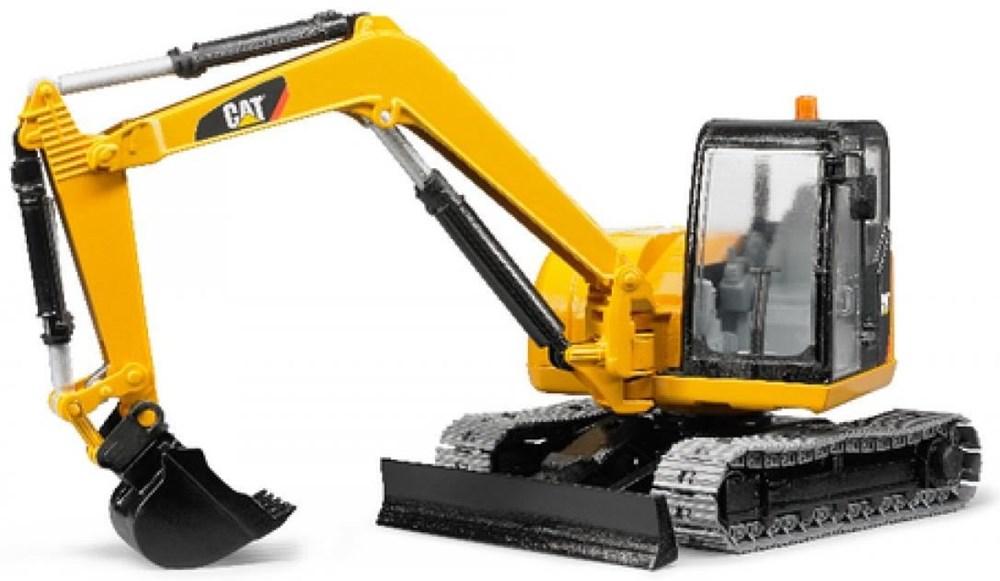 Bruder 02456 Cat Minibagger - Preisvergleich
