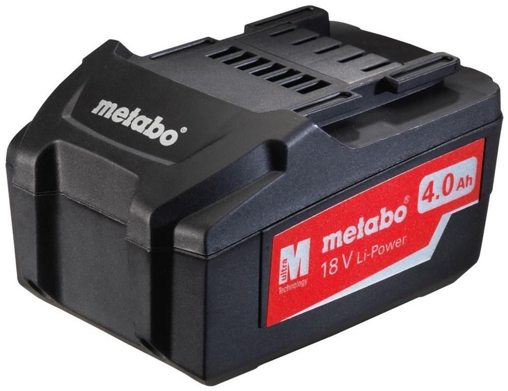 METABO Pick + Mix Serie: Akkupack »18 V, 4,0 Ah, Li-Power« - broschei
