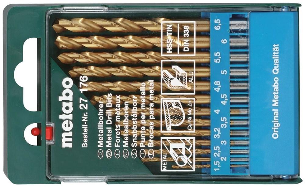 METABO HSS-TiN-Bohrerkassette 13-teilig jetztbilligerkaufen