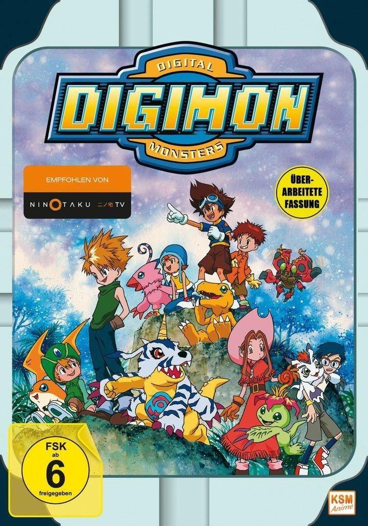 Digimon Adventure - Staffel 1.1 im Sammelschuber (Episode 1- 18) (DVD)