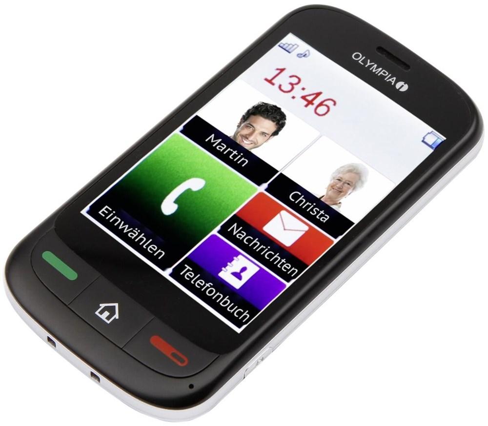 Olympia Mobiltelefon TOUCH 2 schwarz - Preisvergleich