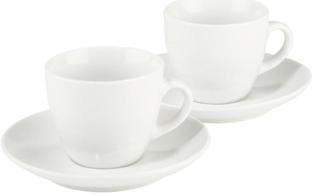 xavax espressotassen set vacant 4 teilig wei zubeh r kaffeemaschinen computeruniverse. Black Bedroom Furniture Sets. Home Design Ideas