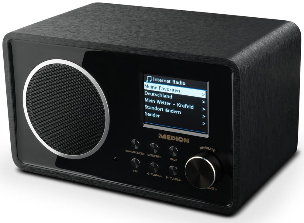 Medion Life E85052 (MD 87267) Wireless LAN Internet-Radio schwarz