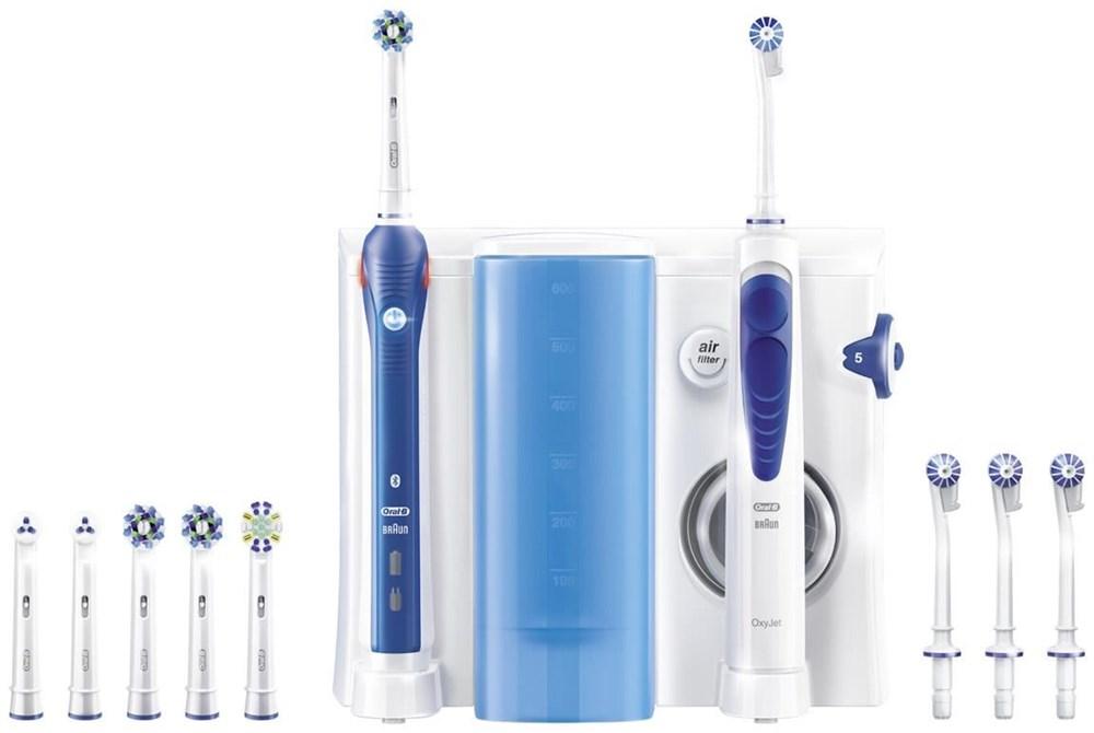 oral b center oxyjet pro 5000 smartserie water flossers. Black Bedroom Furniture Sets. Home Design Ideas