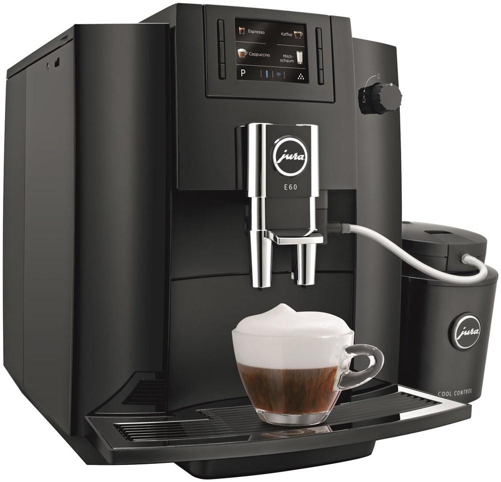 jura e60 piano schwarz kaffeevollautomaten. Black Bedroom Furniture Sets. Home Design Ideas