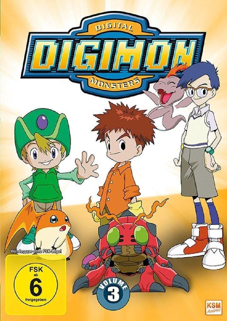 Digimon Adventure - Staffel 1.3 (Episode 37-54) (DVD)